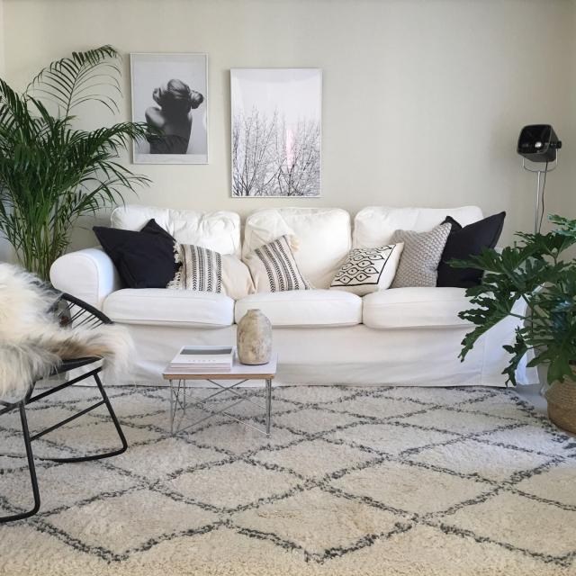 デザイン豊富!IKEAの布製ソファの魅力