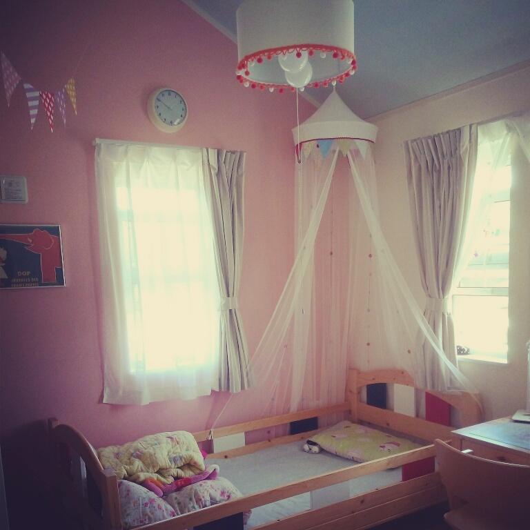 ペイント+プリンセスなお部屋