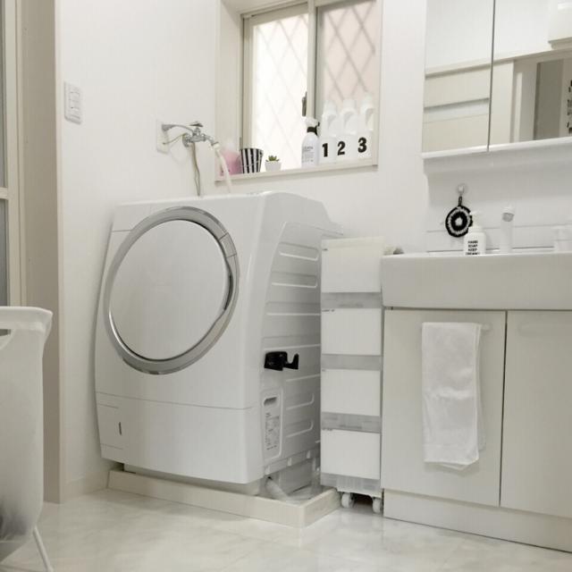 あふれる清潔感に目が釘づけ♡バスルームのホワイト化計画