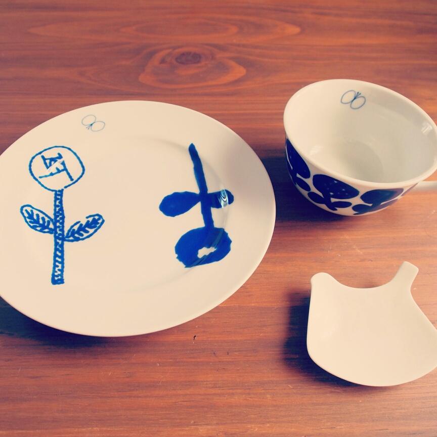 Chihiroさんのカップとお皿
