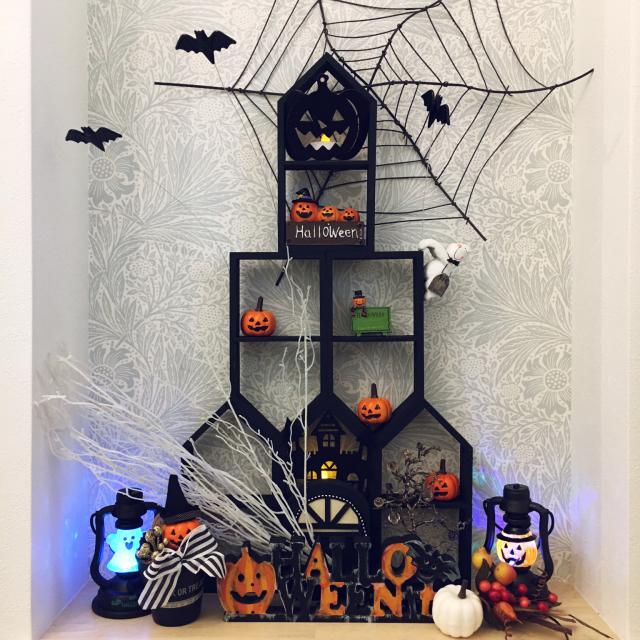 季節の雰囲気たっぷりのお家に♡DIYでハロウィンを楽しむ