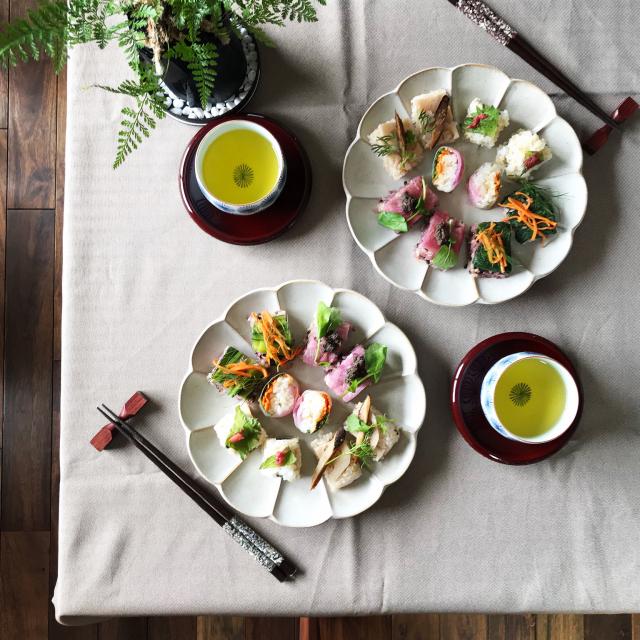 ニトリの食器で彩る♡幸せを感じるテーブルコーディネート