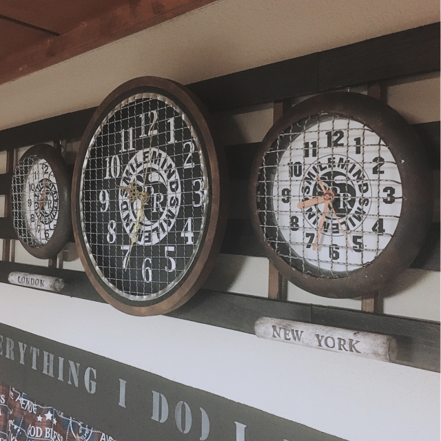 驚きのアイデアばかり!個性光る時計のリメイク実例選