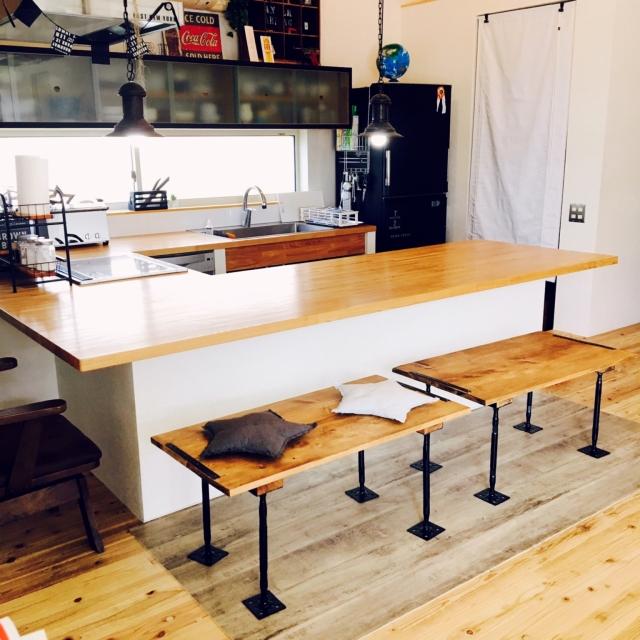 手作りベンチをどこに置く?DIYでお部屋をグレードアップ