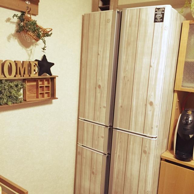 板壁風の冷蔵庫に変身