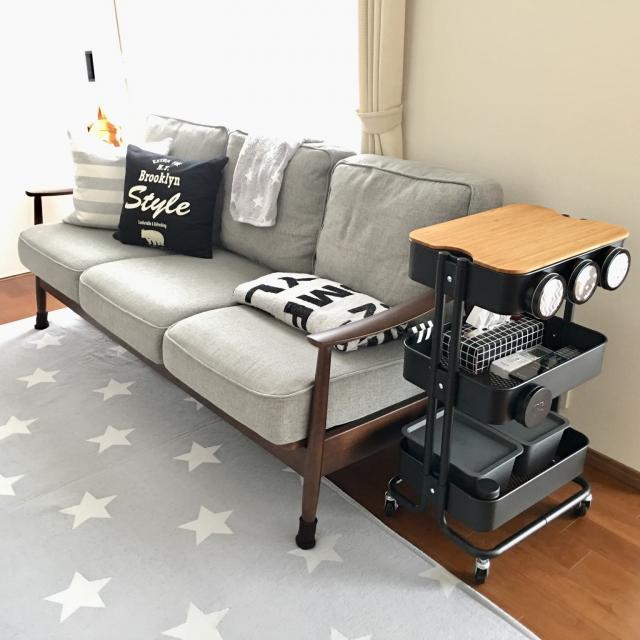 家中で大活躍のIKEAのワゴン!RÅSKOG(ロースコグ)の活用法