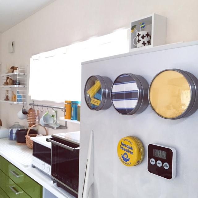マグネットケースにコレ入れています!キッチン実例10選