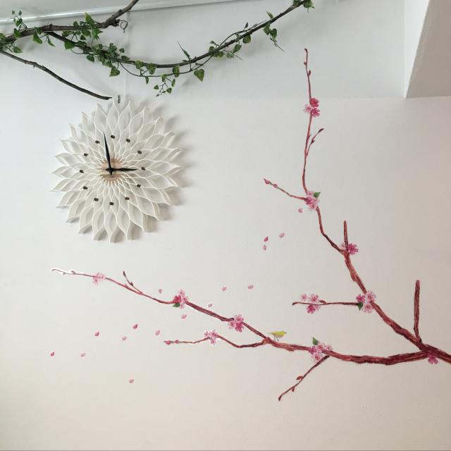 家にいながら♪セリアとダイソーの桜アイテムでお花見気分