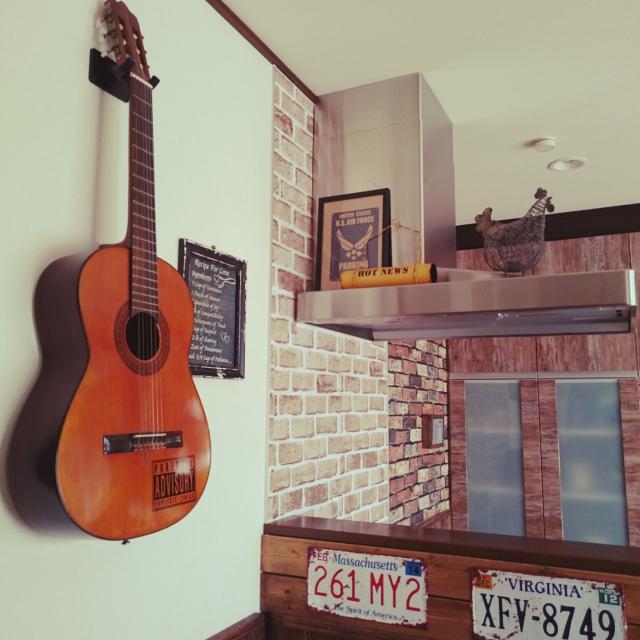 音楽に没頭出来そう!ギターのあるお部屋特集♪