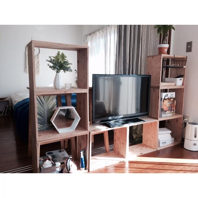 テレビボードどうしてる?センスのいいテレビの置き方実例