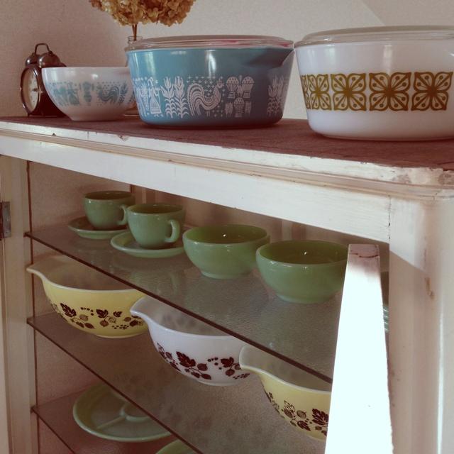 uminchuさんの食器棚