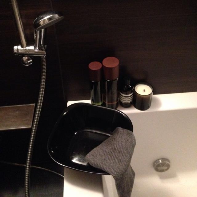 塩系バスルーム必須アイテム