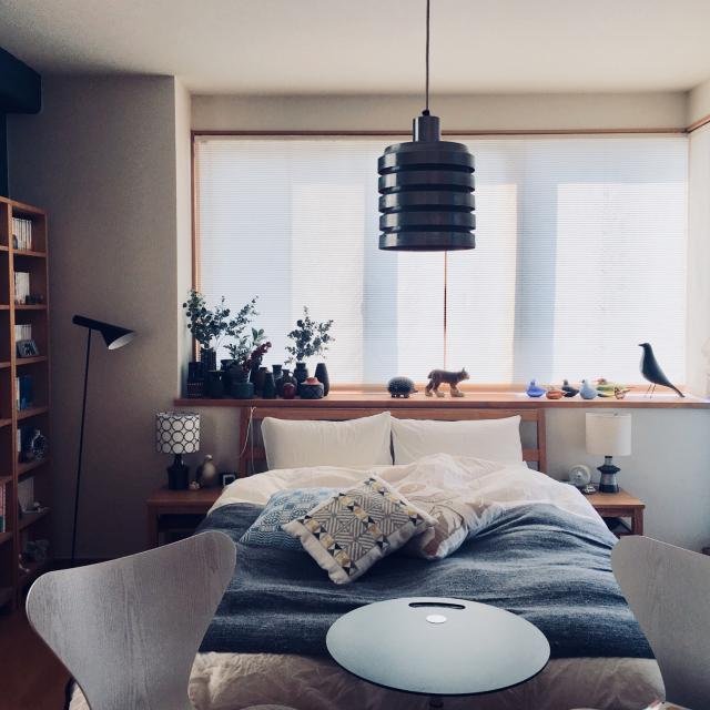 デザインを感じるくつろぎ空間♡北欧モダンなお部屋