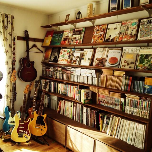 写真・音楽・映画を満喫する!趣味を楽しむためのお部屋