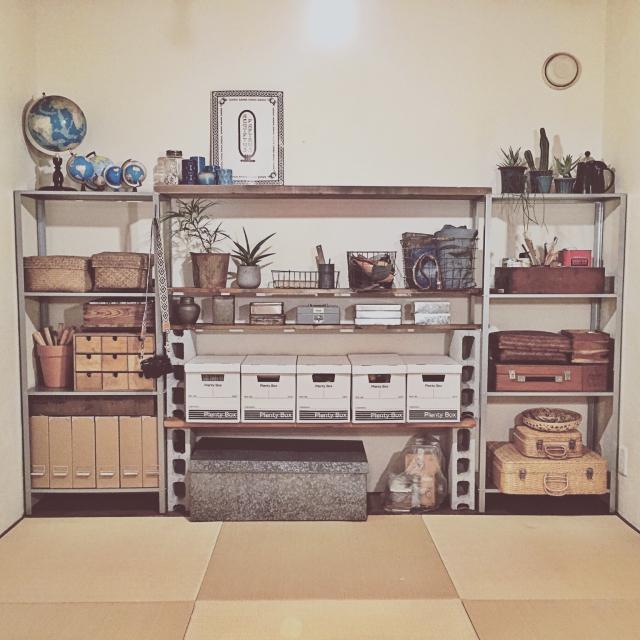 既製品×DIYで憧れの壁面収納♡by yururi-8239223さん