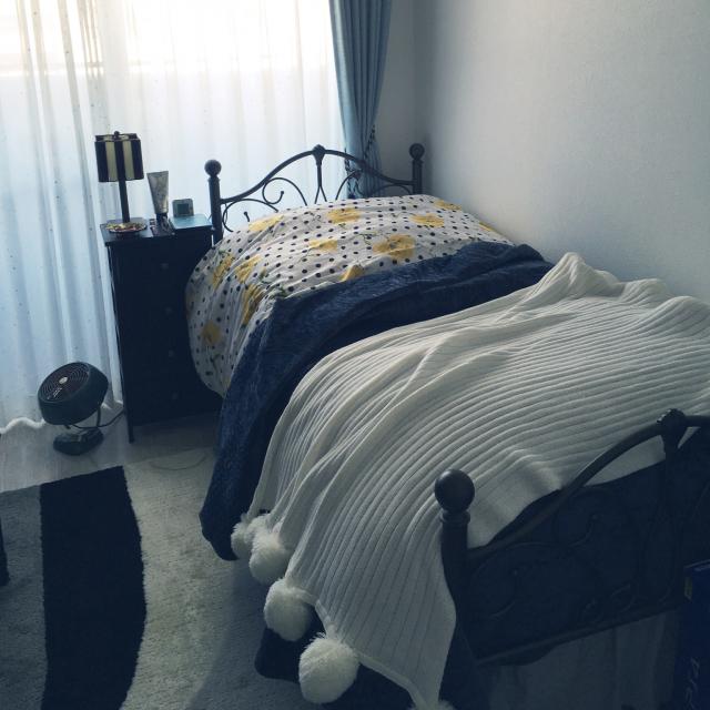 「22m2。アクセントで軽やかに整える、アンティーク調の部屋」 by raraさん