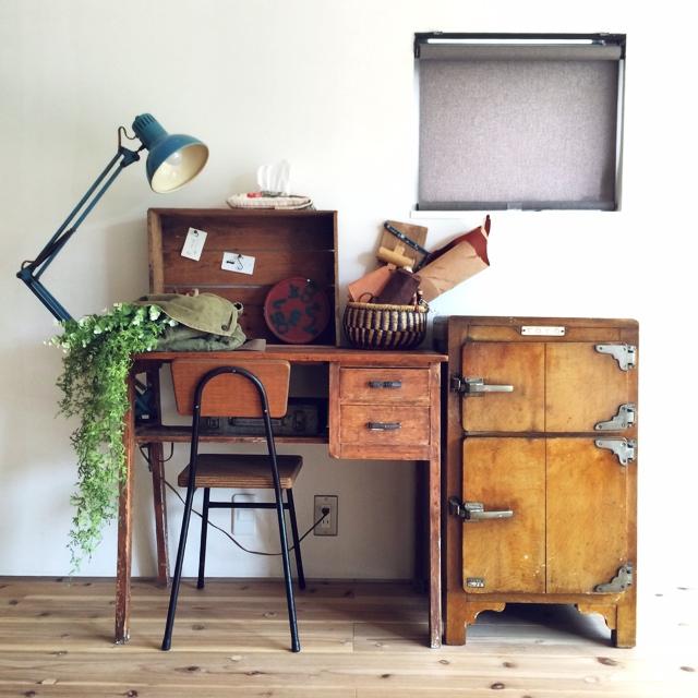 お部屋に深みと物語性を広げて♡古道具の上手な取り入れ方