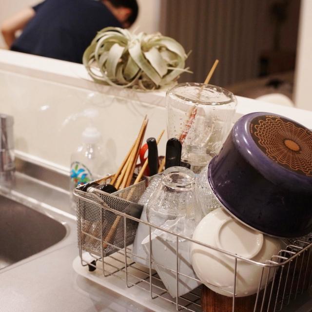 面倒な食器洗いを楽しく!おすすめの水切りカゴ