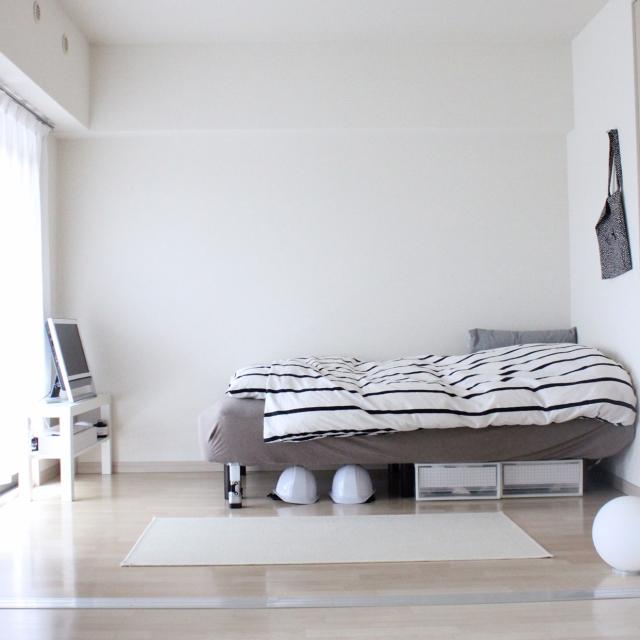 寝室が整うと、ゆっくりと眠れる♡目から鱗の収納実例