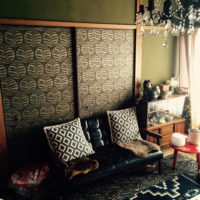 お部屋のイメージ激変!襖のリメイクで和室の模様替え