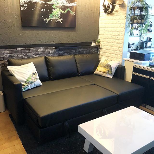 こんなソファ探してた!便利で快適なニトリのソファベッド