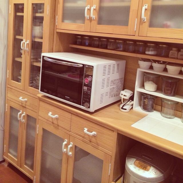 ayuさんの食器棚