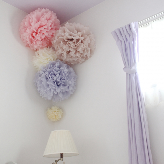 色々なカラーの花を作って飾ろう