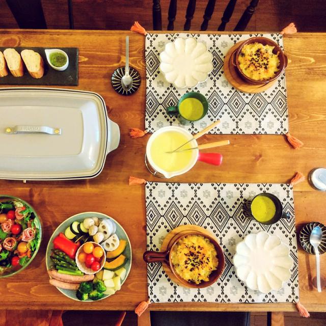 食欲の秋!ニトリの食器で楽しむテーブルコーディネート
