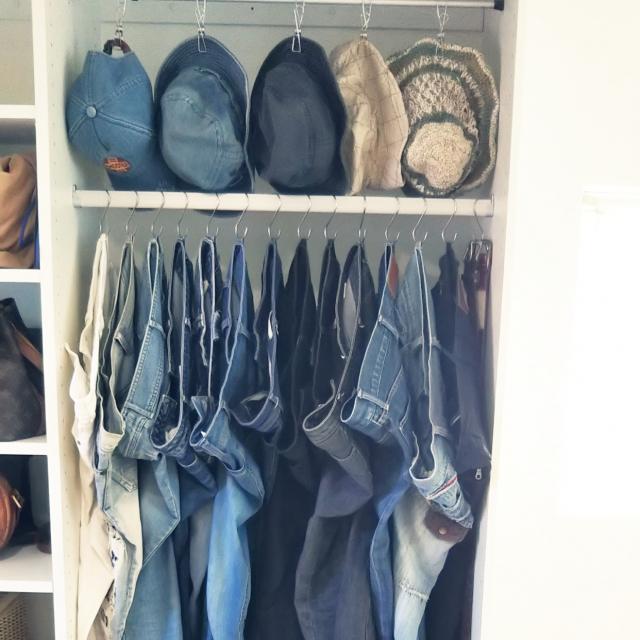 洋服選びが断然楽に!洋服整理に活用したい100均グッズ