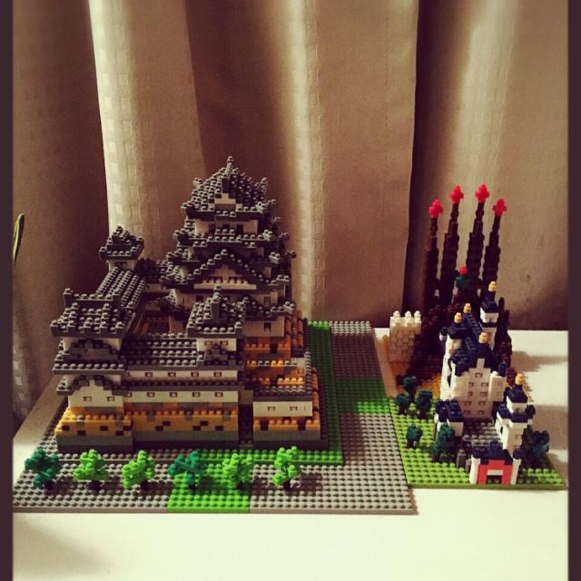 お城も作れます!