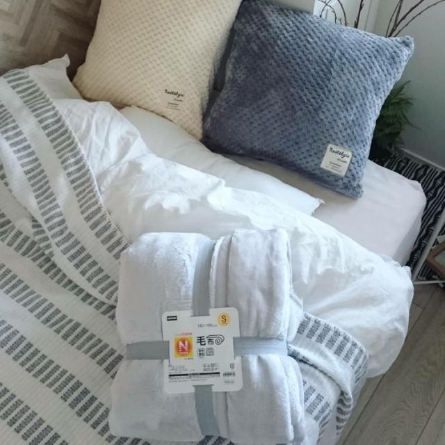 寒い夜もぐっすり眠れる♡ニトリのふんわりあたたか寝具
