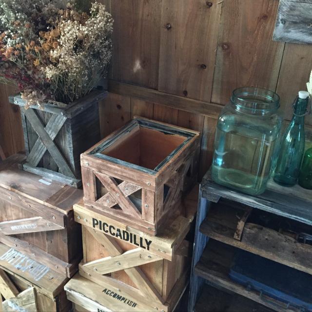 ウッドボックスで始める!木箱のリメイク&DIYアイデア集