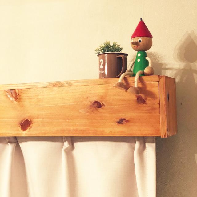 サラリと塗って木の風合いを☆ダイソー水性ニスと作品