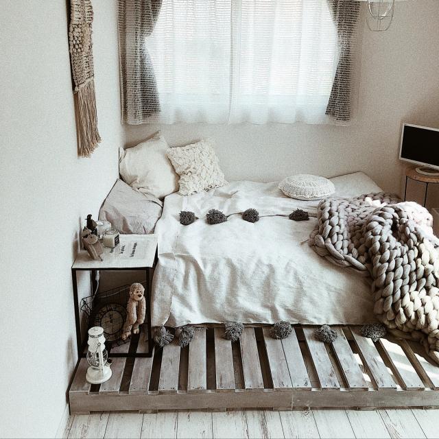 丈夫で安くて使いやすい!木製パレットで作る家具10選