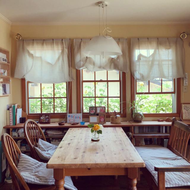 心地いい空間をつくる☆木製サッシや木製扉のあるお家