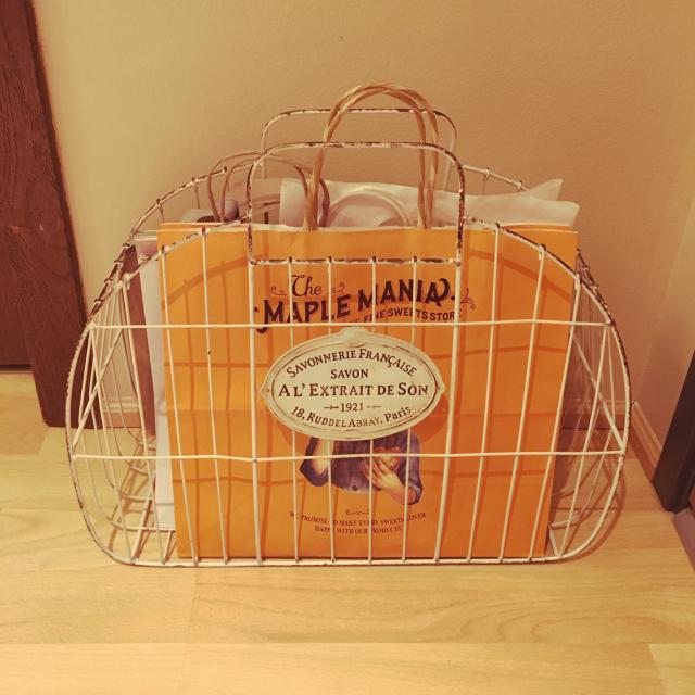 必要な時にサッと取り出せる☆紙袋類の収納アイディア