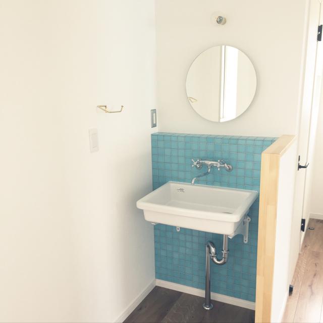 シンプルイズベスト!佇まいの美しいミニマルな洗面台