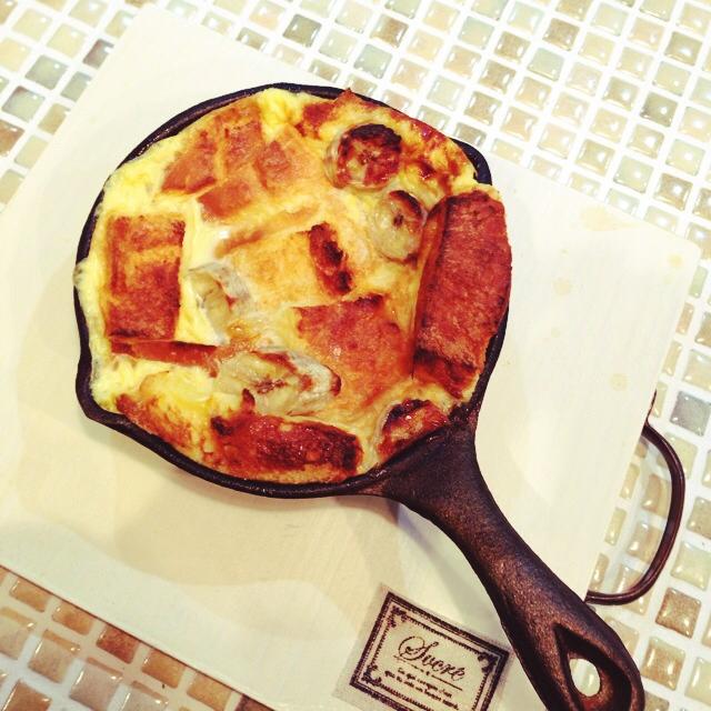 南部鉄器のミニパンで作るおやつ
