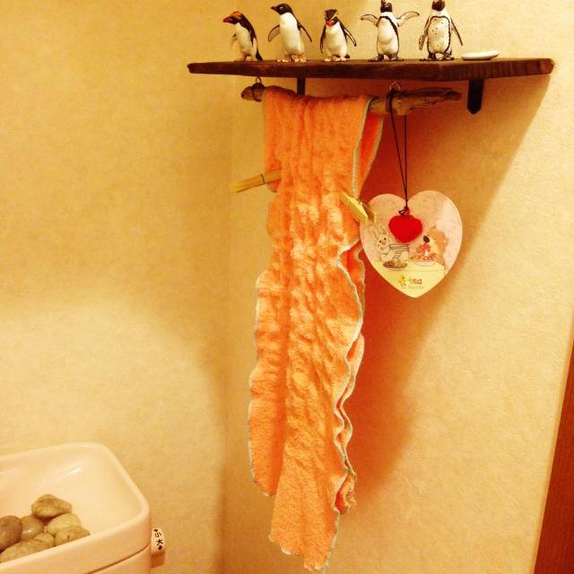kanaさんのタオル掛け