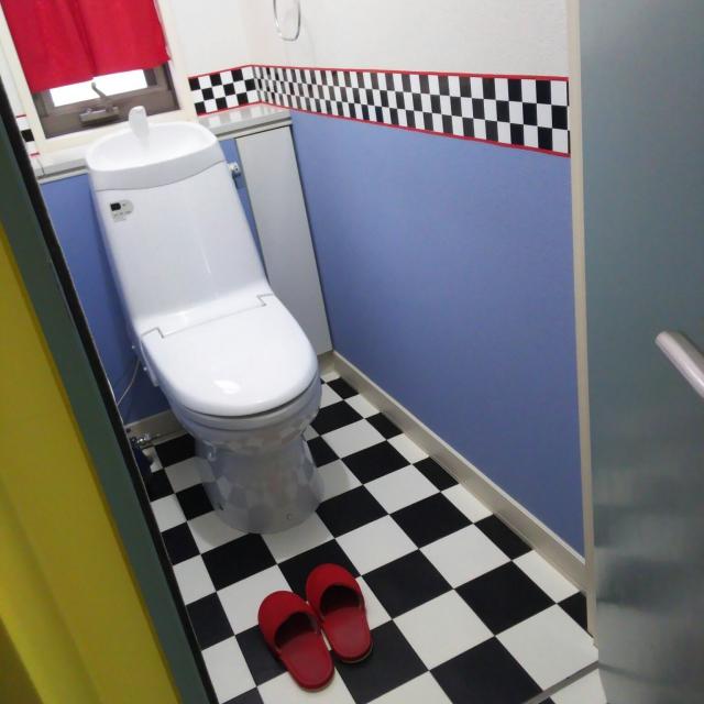 つい長居したくなる♪遊び心のある個性的なトイレの実例集