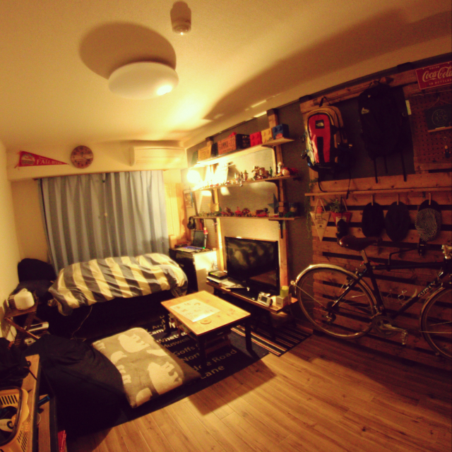 """「DIY女子が作るかっこよすぎる趣味部屋。""""好き""""いっぱいの暮らし」 by Ayumi.0919さん"""