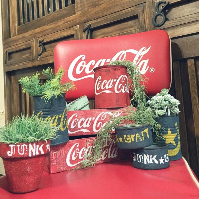 """アメリカンレトロを楽しむ♪渋くてポップな""""コカ・コーラ""""ロゴアレンジ6選 [まとめ人: m.k.a.457さん]"""