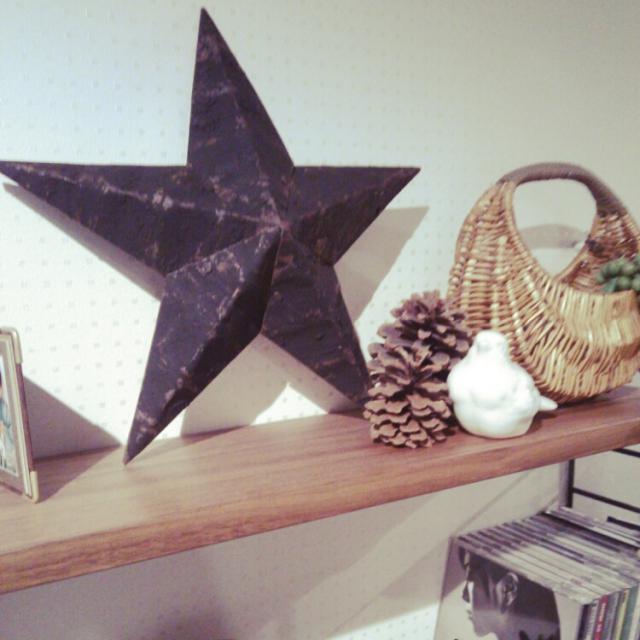 """幸福を呼び寄せる""""星""""。ティンバーンスターを作ってお部屋に飾ろう♪"""