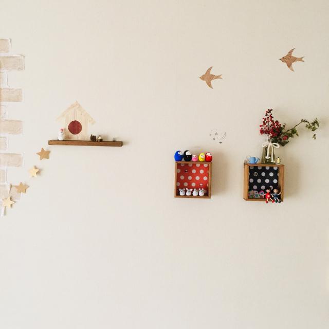 セリアで飾って楽しもう♡気分があがる壁ディスプレイ