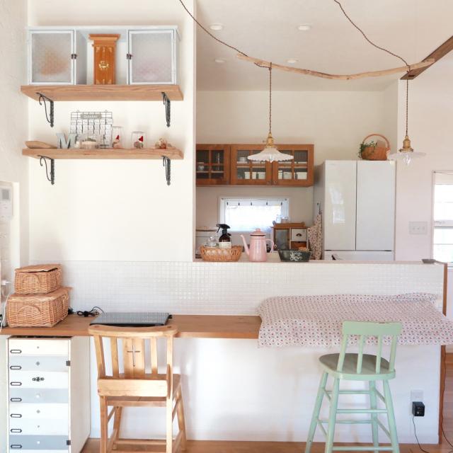 「DIYを豊かに楽しむ、品よく気取らないプロバンスなキッチン」 by Ayanoさん