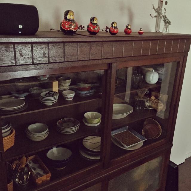 アンティークな雰囲気にあこがれる♡古道具のある部屋