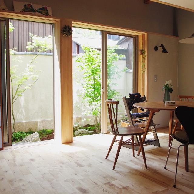 「わび・さびの趣をモダンに楽しむ、現代風日本家屋」 by Yoshinarhythmさん
