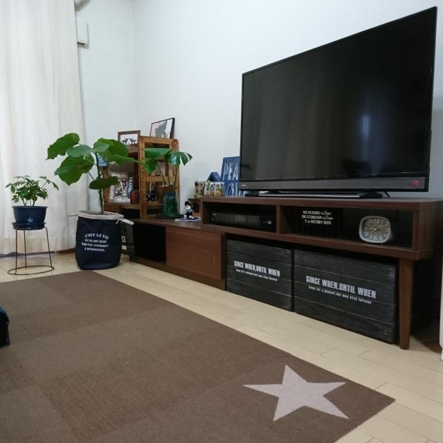 理想のテレビ周りを実現できる☆ニトリのテレビボード