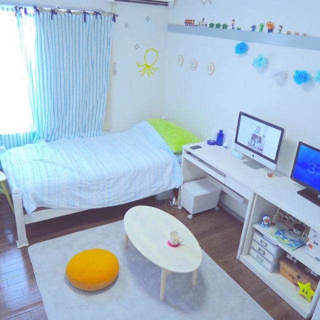 ①シンプル系のお部屋