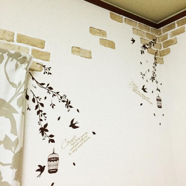 壁面に❝貼る❞